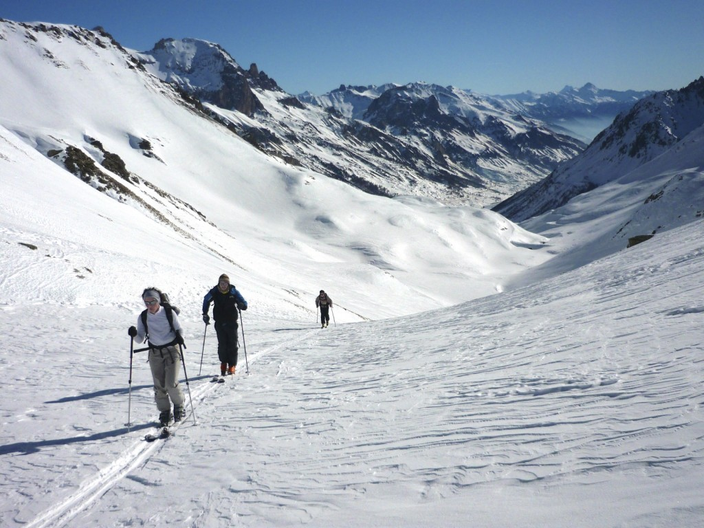 ski de randonnée la grave