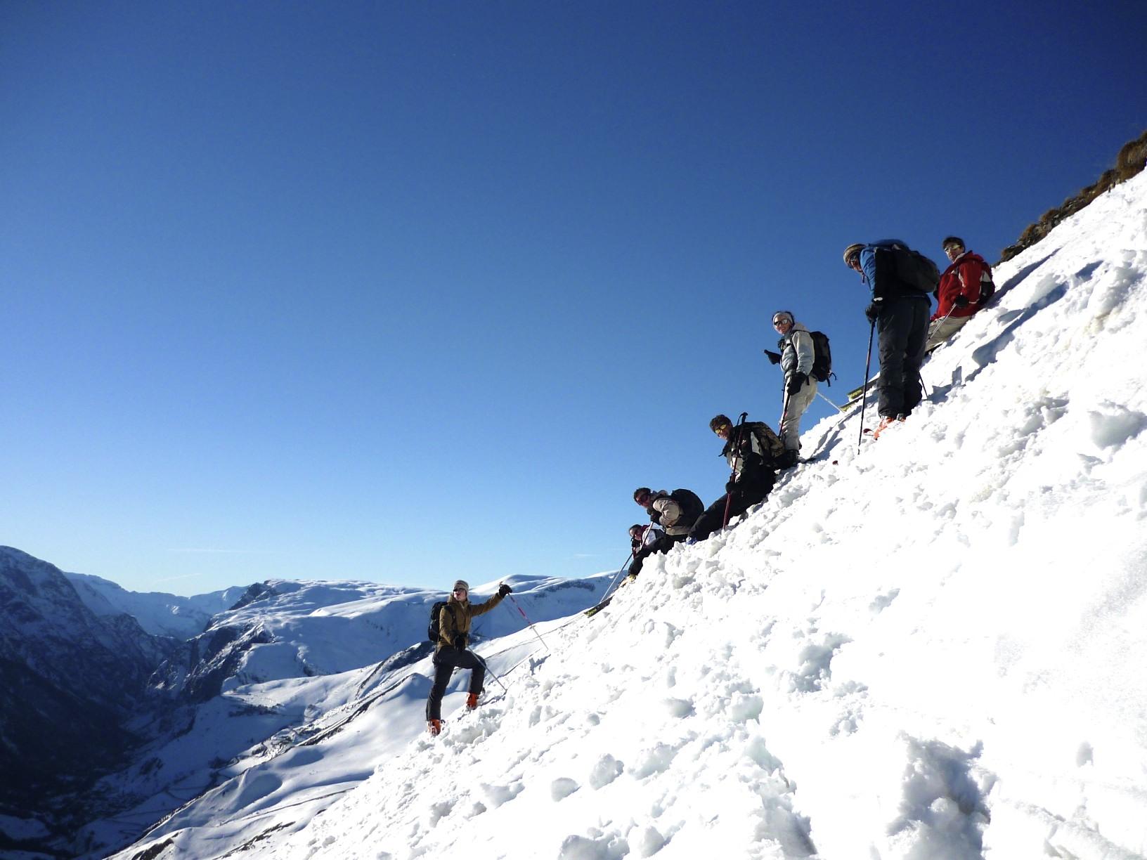ski de rando, la grave