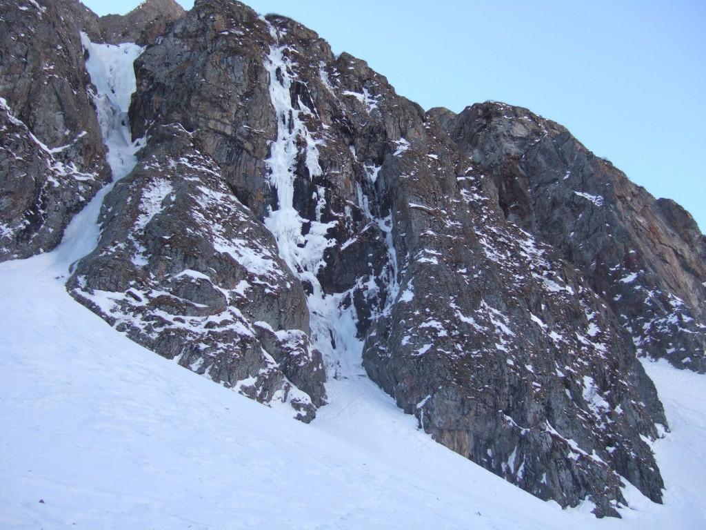 cascade de glace, vallon du diable