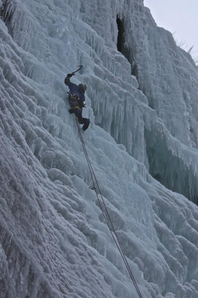cascade de glace, Moulin Marquis