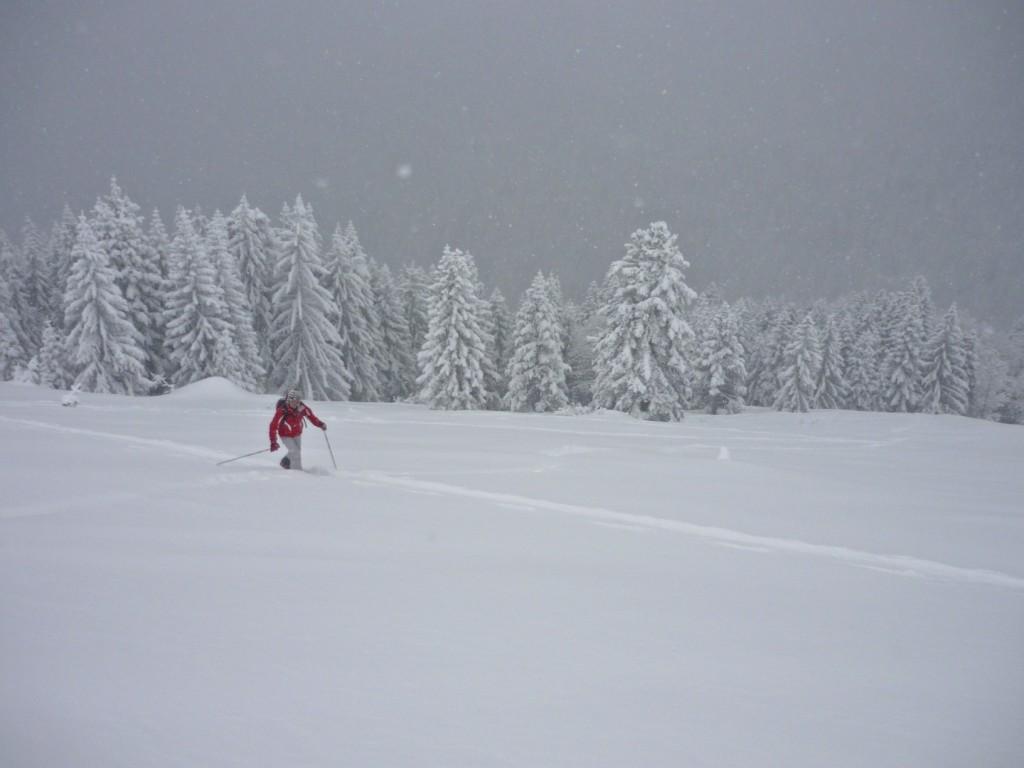 ski de rando, dome de bellefond