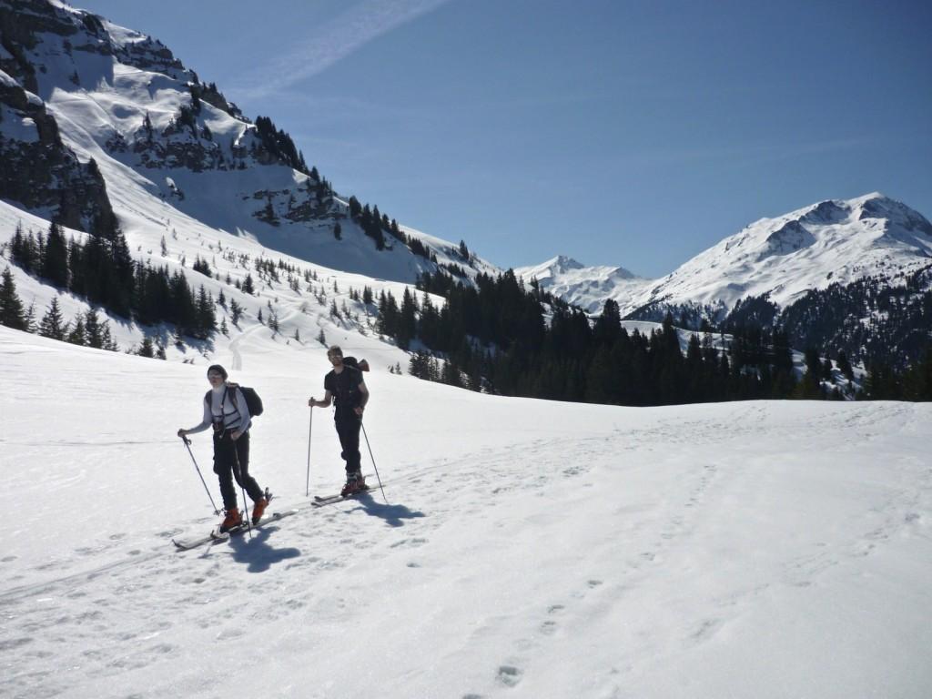 ski de rando, roche Parstire