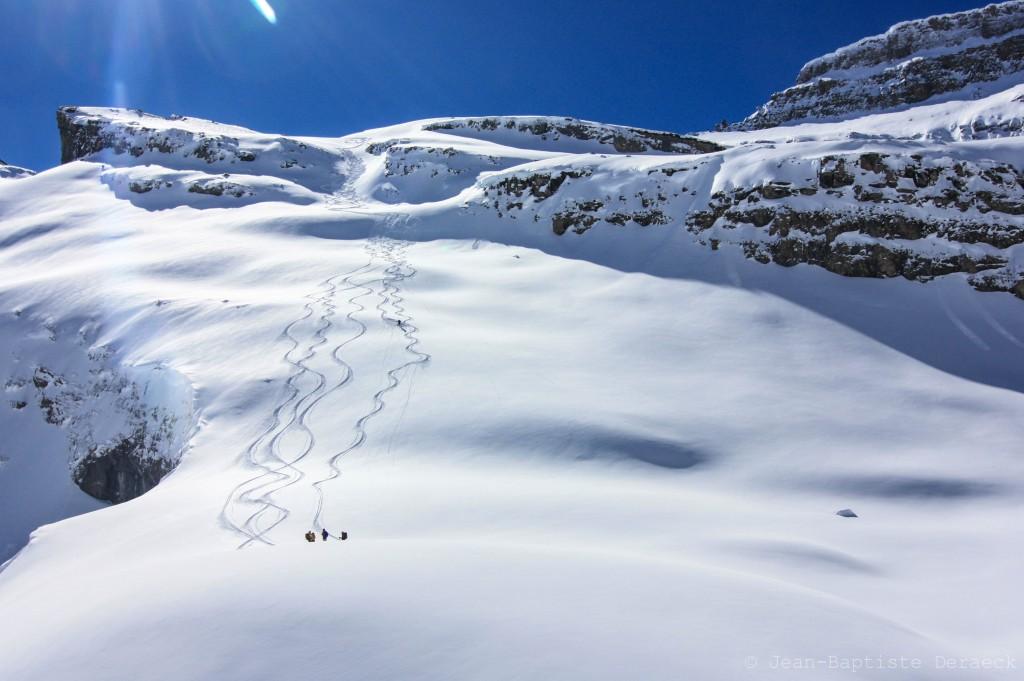 Du bon ski, sous le soleil exactement.
