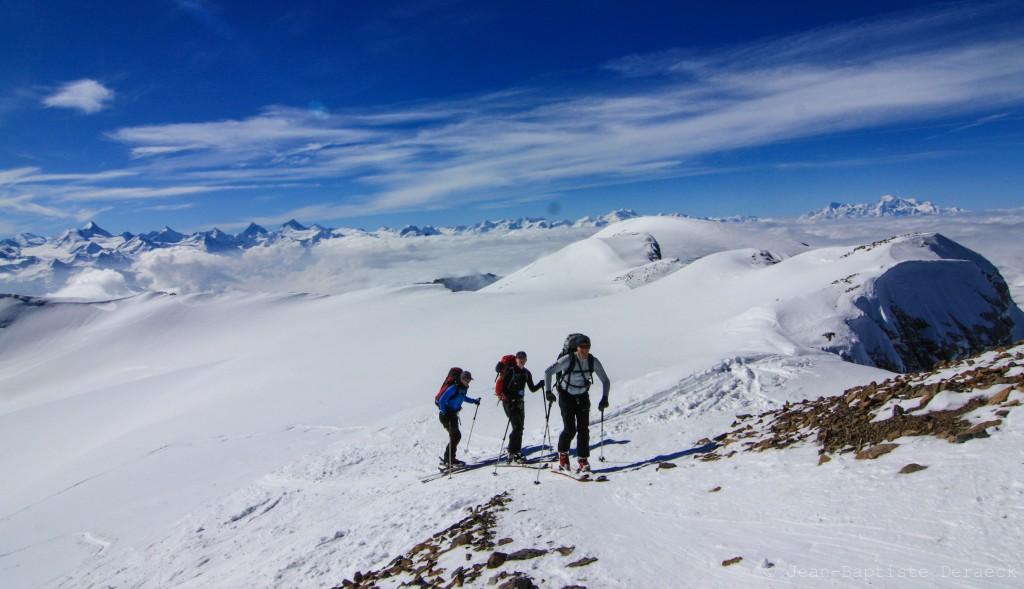 Les 4000 du Valais et du Mont-Blanc.