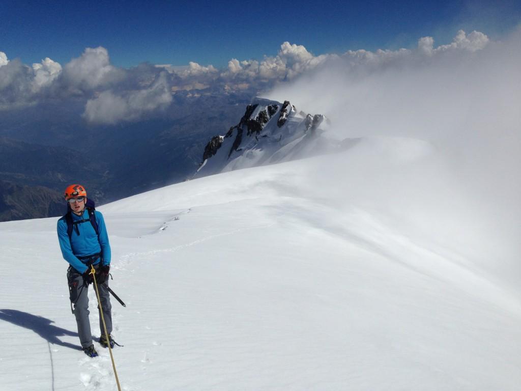 Plus que quelques mètres avant 4810m
