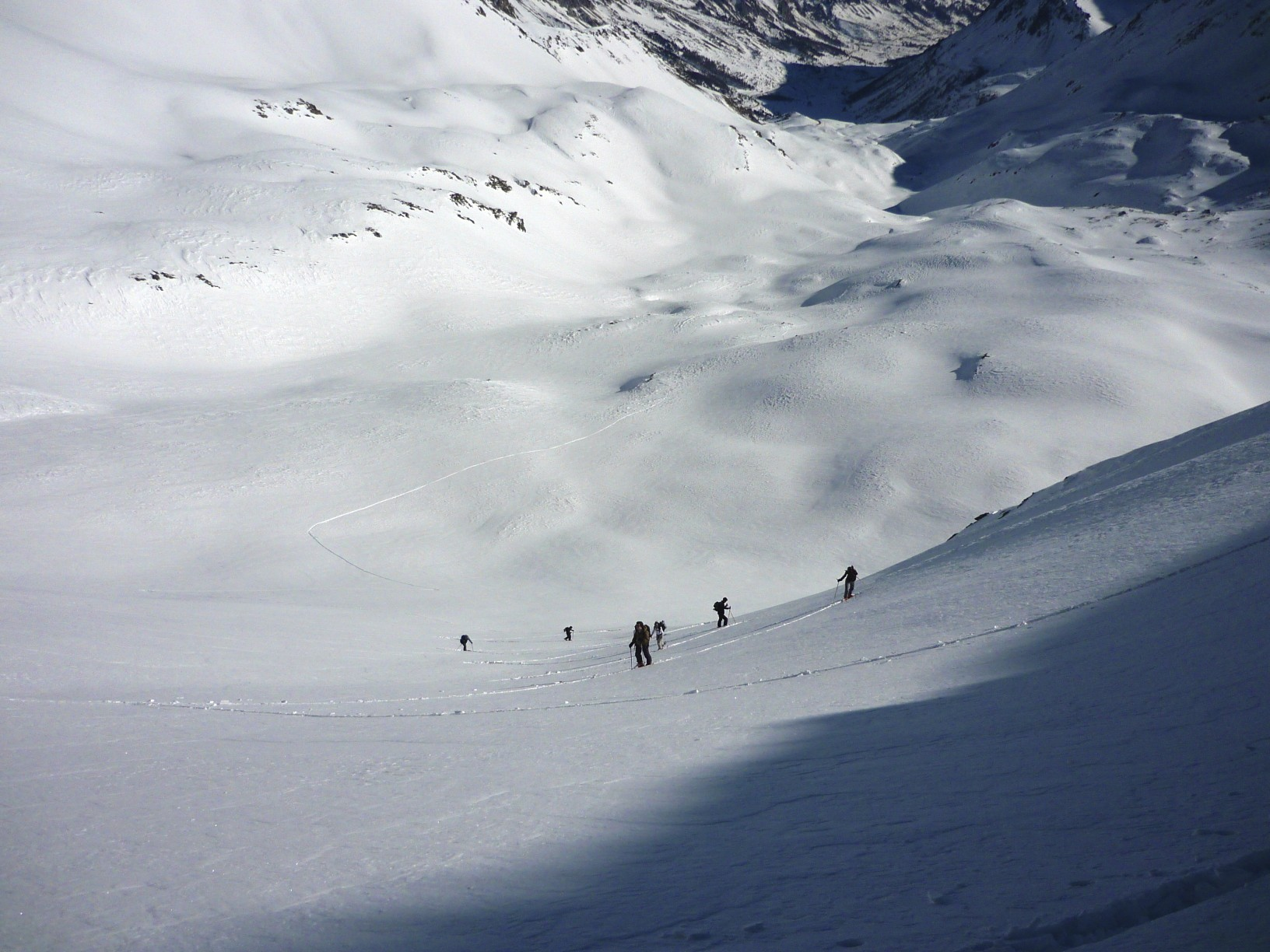 La grave, ski de rando